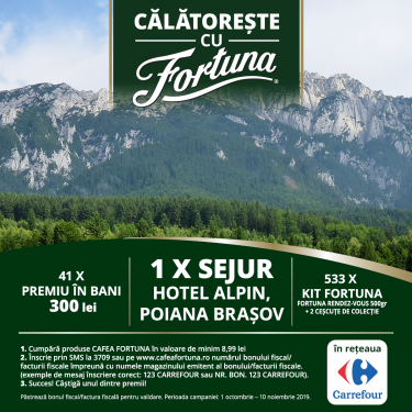 Travel with Fortuna (Carrefour)